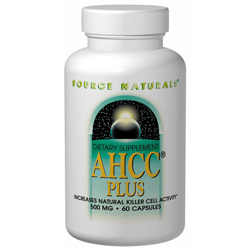 AHCC Plus with Selenium & Vitamin E 60 caps from Source Naturals