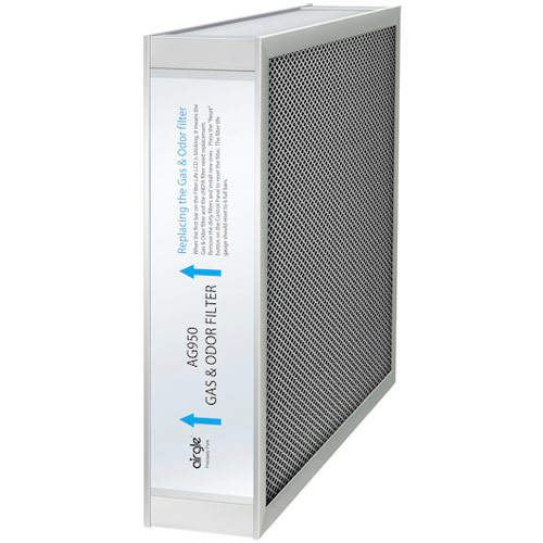 Airgle AG950 Gas & Odor Filter, Activated Carbon Filter