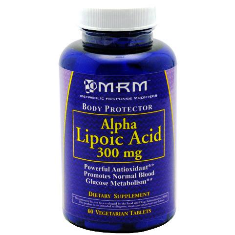 MRM ALA Alpha Lipoic Acid 300mg 60 Capsules