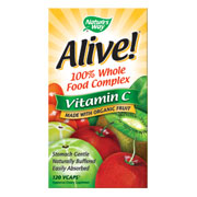Alive! Organic Vitamin C, 120 Vegicaps, Nature's Way