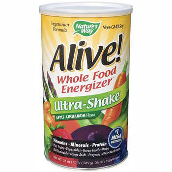 Alive! Ultra Shake Powder Vanilla 1.3 lb from Natures Way