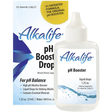 Alkalife pH Booster Drops, 1.25 oz (Liquid Drops for Making Alkaline Water)