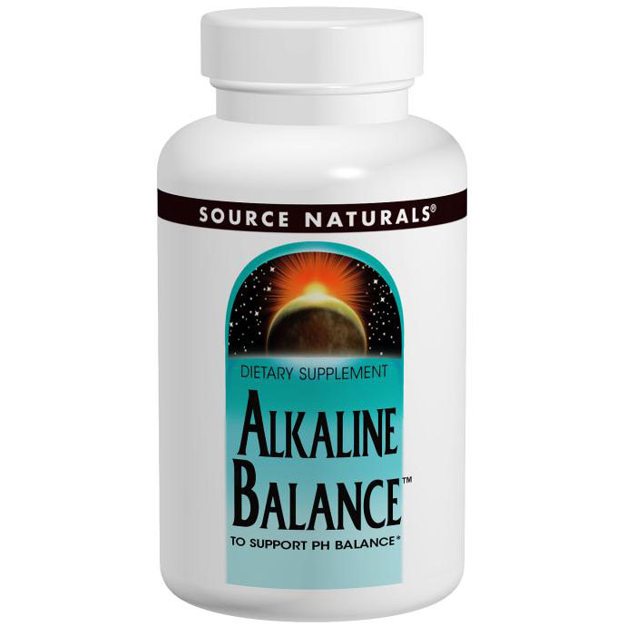 Alka-Balance (Alkaline Balance) 120 tabs from Source Naturals