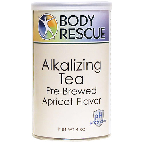 Alkalizing Tea, Pre-Brewed Apricot Flavor, 4 oz, Body Rescue
