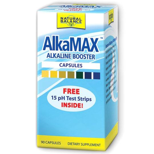 AlkaMax PH Balancing, PH Balance Health, 90 Capsules, Natural Balance