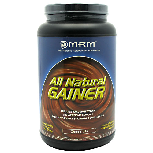 All Natural Gainer Powder, 3.3 lb, MRM