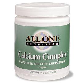 Calcium Complex Powder 240 gm, All One Nutritech