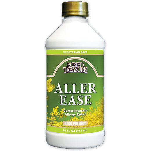 Aller Ease, Liquid Allergy Support, 16 oz, Buried Treasure Liquid Nutrients
