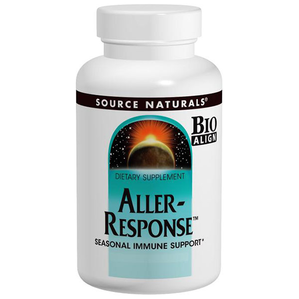 Aller-Response, Seasonal Immune Support, 30 Tablets, Source Naturals