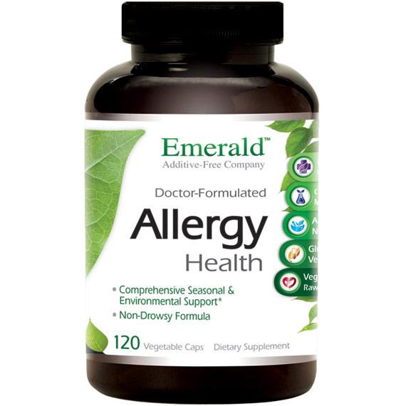 Allergy Health, 120 Vegetable Capsules, Emerald Labs