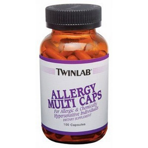 Allergy MultiCaps (Allergy Multi Caps) 100 caps from Twinlab