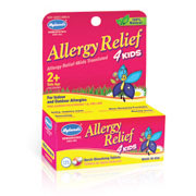 Allergy Relief 4 Kids, 125 Quick-Dissolving Tablets, Hylands (Hyland's)
