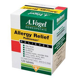Allergy Relief, Pollinosan 120 tabs from Bioforce USA