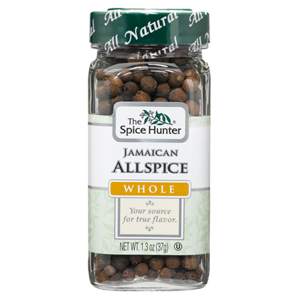 Allspice, Jamaican, Whole, 1.3 oz x 6 Bottles, Spice Hunter