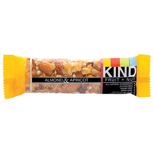 Almond & Apricot Bar, 1.4 oz x 12 Bars, KIND Fruit & Nut Bars