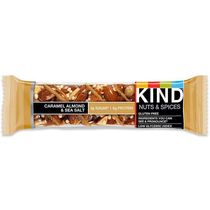 Almond & Cashew Plus Bar, 1.4 oz x 12, KIND Fruit & Nut Bars
