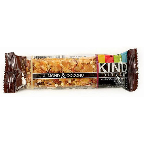 Almond & Coconut Bar, 1.4 oz x 12 Bars, KIND Fruit & Nut Bars