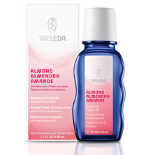 Weleda Almond Soothing Facial Oil, Fragrance Free, 1.7 oz