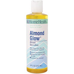 Almond Glow Lotion - Rose Skin Lotion 8 oz from Home Health