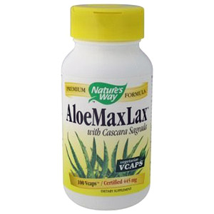 Aloe Maxlax 100 caps from Natures Way