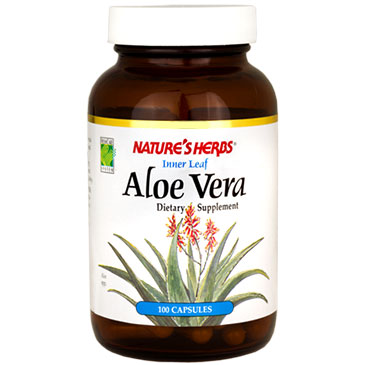 Aloe Vera Inner Leaf 100 caps from Natures Herbs