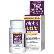 Alpha Betic ( AlphaBetic ) For People with Diabetes 30 Tablets