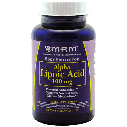 MRM Alpha Lipoic Acid 60 caps. 100 mg