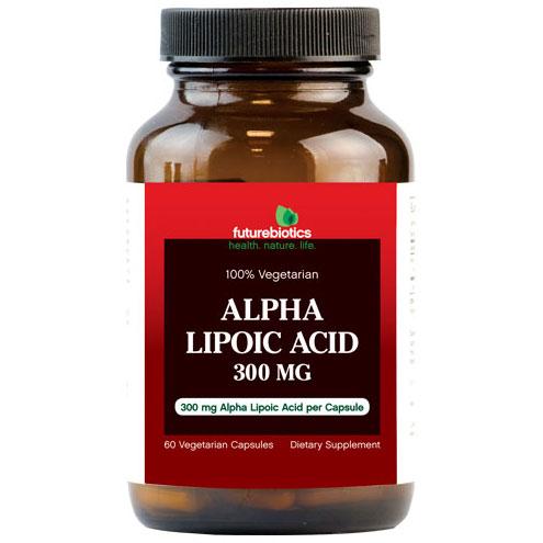 Alpha Lipoic Acid, 60 Vegetarian Capsules, FutureBiotics
