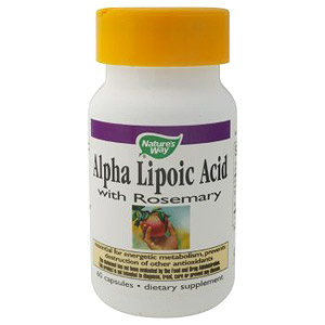 Alpha Lipoic Acid ALA with Rosemary 60 caps from Natures Way