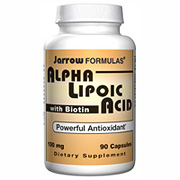 Alpha Lipoic Acid, ALA With Biotin, 90 caps, Jarrow Formulas