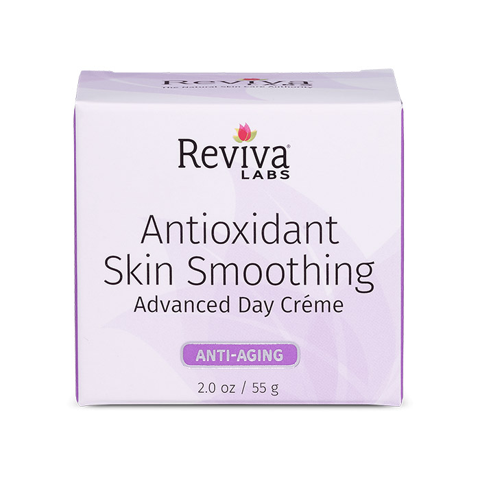 Reviva Labs Antioxidant Skin Smoothing Advanced Day Cream, 2 oz