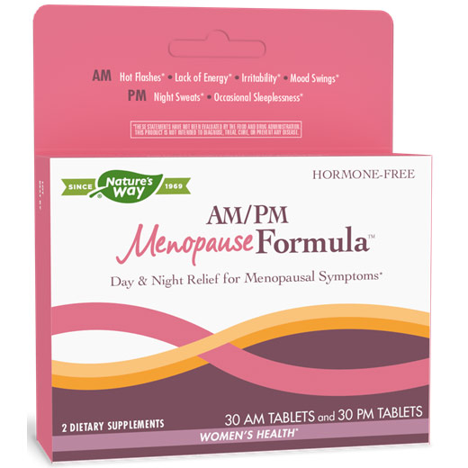 AM/PM Menopause Formula, 60 Tablets, Enzymatic Therapy