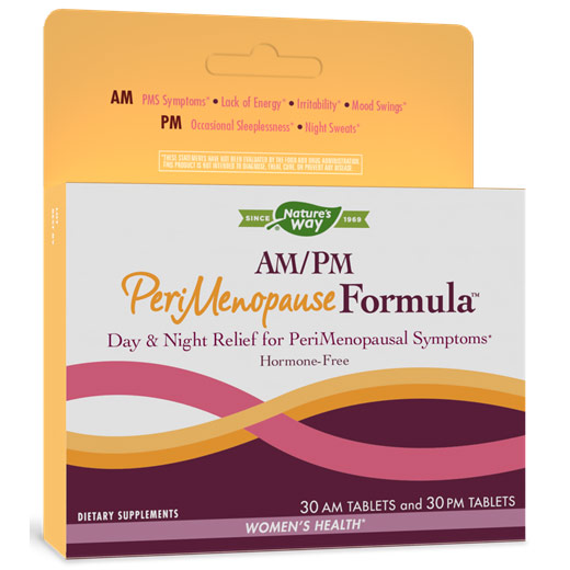 AM/PM PeriMenopause Formula, 60 Tablets, Enzymatic Therapy