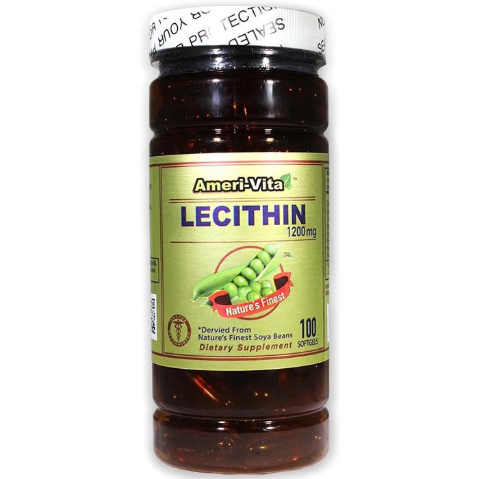 Lecithin 1200 mg, 100 Softgels, Ameri-Vita
