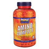 Amino Complete, Amino Acids Complex 360 Caps, NOW Foods