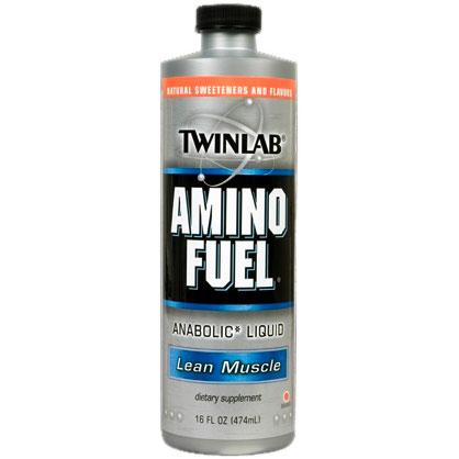 Amino Fuel Liquid Orange, 16 oz, TwinLab