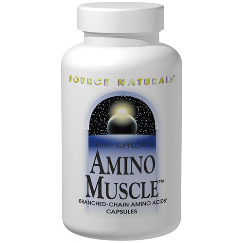 Amino Muscle Caps, 120 Capsules, Source Naturals