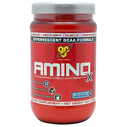 BSN Amino X Powder, Effervescent Amino Acids & BCAA, 30 Servings