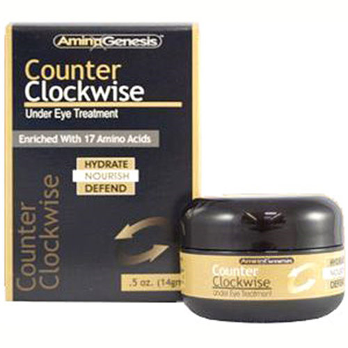 AminoGenesis Counter Clockwise Under Eye Treatment Cream, 0.5 oz