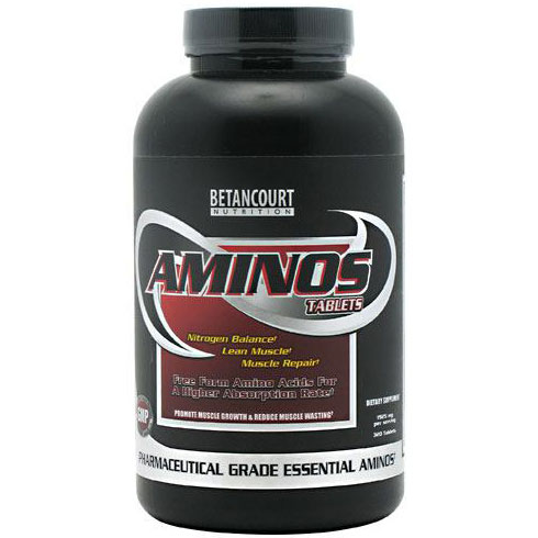 Aminos, Nitrogen Balance, 320 Tablets, Betancourt Nutrition