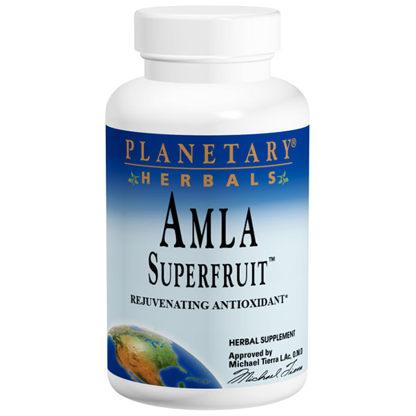 Amla Superfruit 500 mg, 120 Tablets, Planetary Herbals