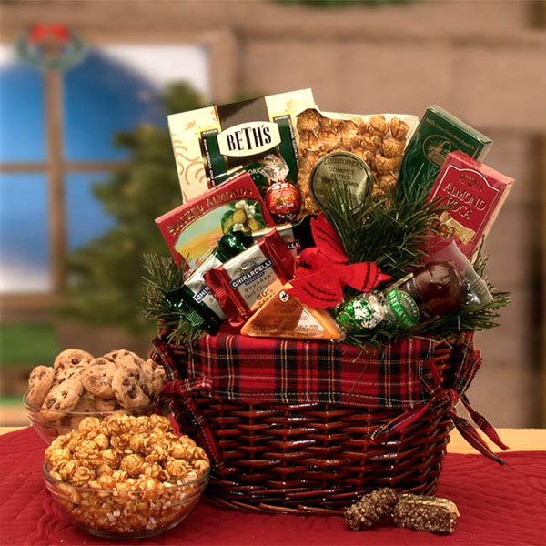 An Old Fashioned Christmas Gift Basket, 1 Set, Elegant Gift Baskets Online
