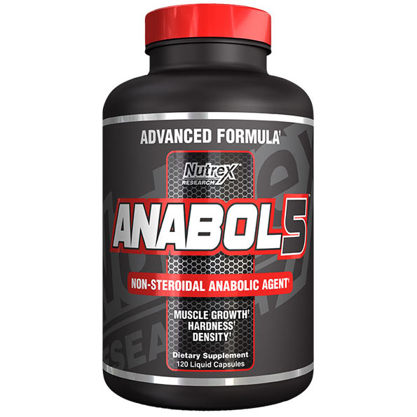 Anabol 5, 120 Multi-Phase Capsules, Nutrex Research - CLICK HERE TO LEARN MORE