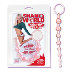 Anal 101 Intro Beads - Pink, California Exotic Novelties