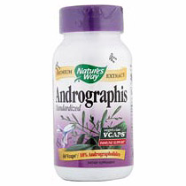 Andrographis Extract Standardized 60 vegicaps from Natures Way