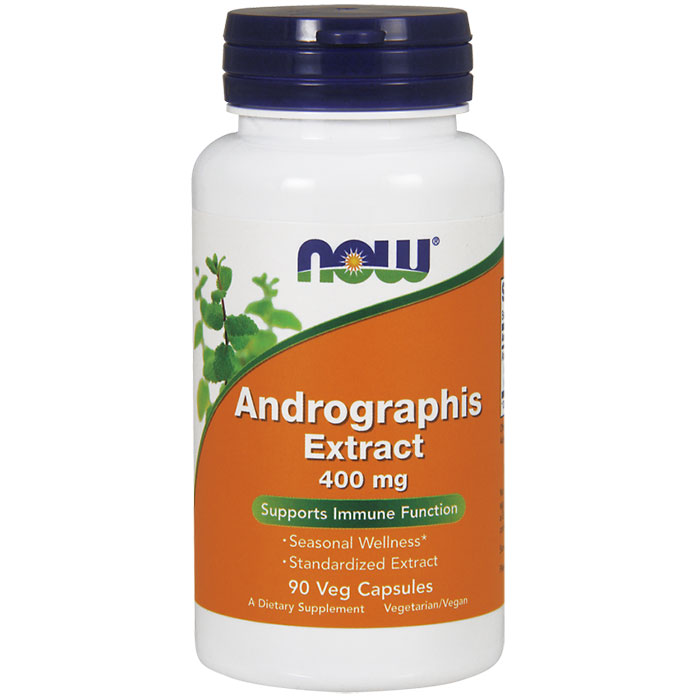 Andrographis Extract 400 mg, 90 Vegetarian Capsules, NOW Foods