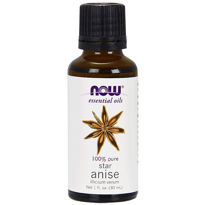 Anise Oil, Pure Essential Oil 1 oz, NOW Foods