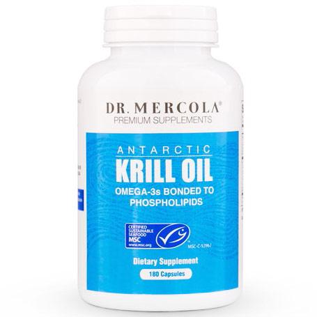 Antarctic Krill Oil, Value Size, 180 Capsules, Dr. Mercola