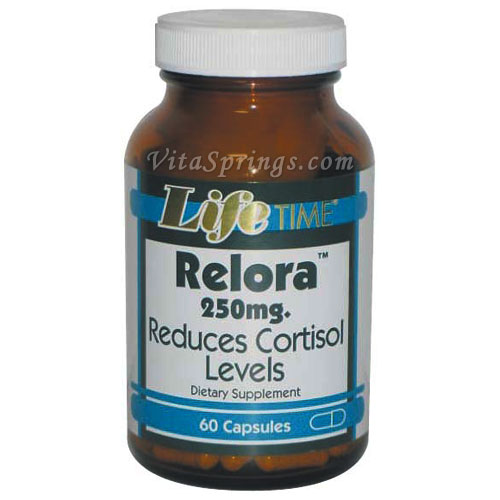 Anti Anxiety Relora 250 mg, 60 Capsules, LifeTime