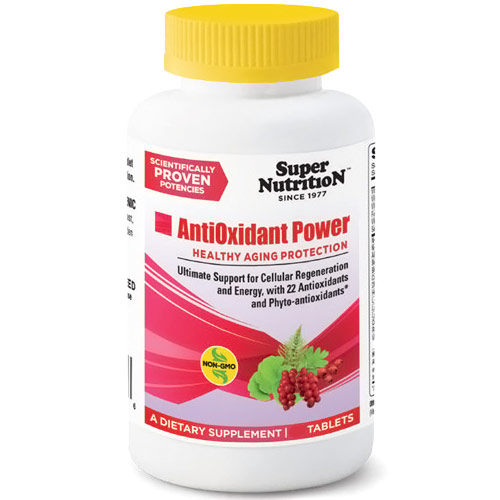 AntiOxidant Power, Comprehensive Formula, 30 Tablets, SuperNutrition